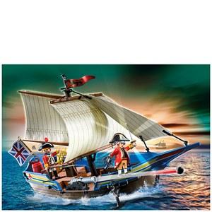 Playmobil Pirates Redcoat Battle Ship (5140)