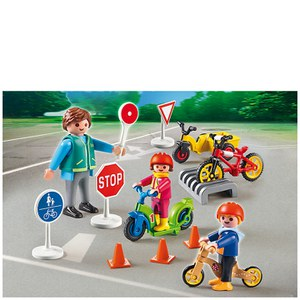 Playmobil Pre-School Children with Crossing Guard (5571)