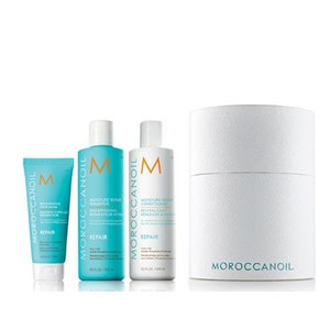 Moroccanoil Moisture Spring Cylinder Treatment (Includes Free 75ml Hair Mask)