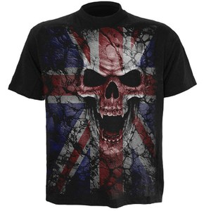 Spiral Men's UNION WRATH T-Shirt - Black