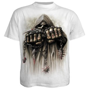 Spiral Men's GAME OVER T-Shirt - White