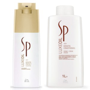 Wella SP Luxe Oil Keratin Protect Shampoo and Conditioner (1000ml)