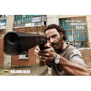 The Walking Dead Rick Gun - Maxi Poster - 61 x 91.5cm