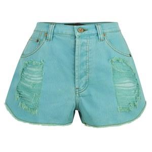 MINKPINK Women's Riptide Slasher Shorts - Aqua