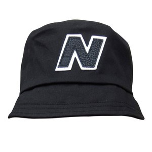 New Balance Men's Glasto Cotton Bucket Hat - Black/White