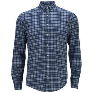 GANT Men's Chambray Check Shirt - Blue