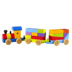 Orange Tree Toys Puzzle Train