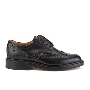 Sanders Men's Fakenham Leather Brogues - Black