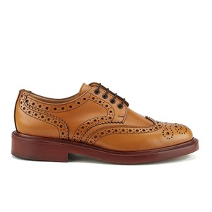 Sanders Men's Fakenham Leather Brogues - Acorn