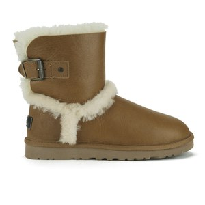 UGG Australia Women's Airehart Sheepskin Boots - Vintage Chestnut