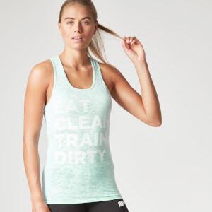 Myprotein Damen Burnout Shirt, Pastel Grün