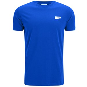 Myprotein Men's Longline Short Sleeve T-Shirt, Navy