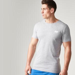 Myprotein 男士纯棉短袖长款T恤 - 花灰色