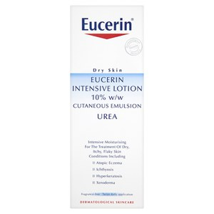 Eucerin® Dry Skin Intensive Lotion 10% w/w Kutane Emulsion mit Urea (250ml)