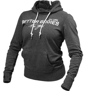 Better Bodies NY Hood Sweatshirt - Antracite Melange