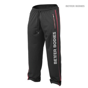 Better Bodies Classic Mesh Pants - Black/Red