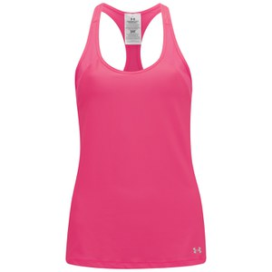 Canotta Under Armour HeatGear da Donna - Rosa Shock