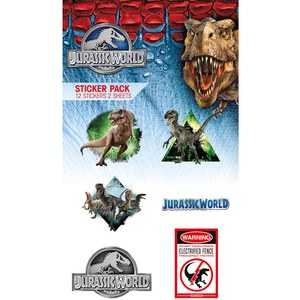 Jurassic World Mix Vinyl - Sticker Pack