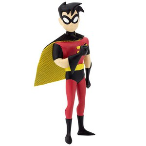 NJCroce DC Comics The New Batman Adventures Robin 6 Inch Bendable Action Figure