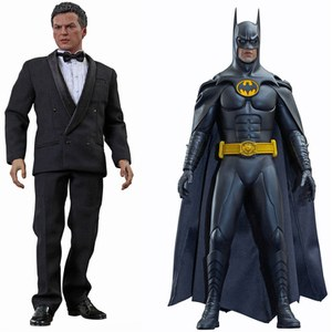Hot Toys DC Comics Batman Returns Batman y Bruce Wayne Escala 1:6 Figura