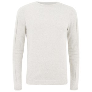 Jack & Jones Men's Core Holden Jumper - Treated White