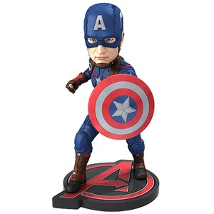 NECA Marvel Avengers Age of Ultron Captain America Extreme Head Knocker