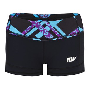 Shorts Atléticos para Mujer FT Myprotein - Color Negro
