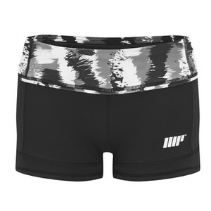Myprotein FT Athletic Shorts Kvinnor – Black Stroke