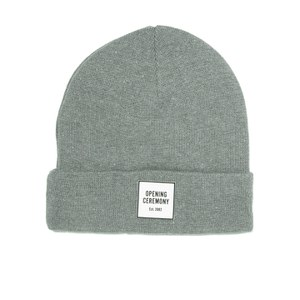 Opening Ceremony Men's Logo Knitted Beanie - Light Grey