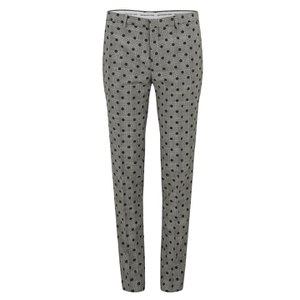 Each X Other Women's Prince of Wales Polka Dot Pants - Black/White