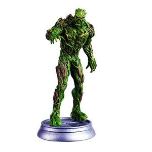 DC Comics Swamp Thing White Pawn Chess Piece with Collector Magazine