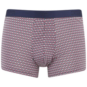 Derek Rose Men's Diamond 1 Hipster Trunk Boxers - Ruby