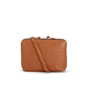 Sandqvist Women's Anna Leather Shoulder Bag - Cognac Brown