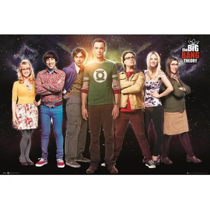 The Big Bang Theory Cast - 24 x 36 Inches Maxi Poster