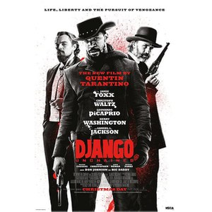 Django Unchained Life, Liberty and the Pursuit -61 x 91,5cm Maxi Póster