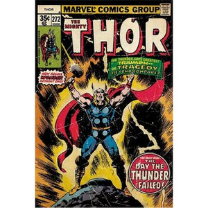 Marvel Thor Retro Comic - 24 x 36 Inches Maxi Poster
