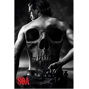 Sons Of Anarchy Skull -61 x 91,5cm Maxi Póster