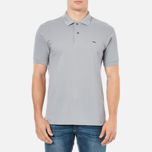 Lacoste Men's Short Sleeve Polo Shirt - Platinum