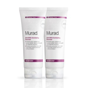 Murad AHA/BHA Exfoliating Cleanser Duo (Worth: £68.00)