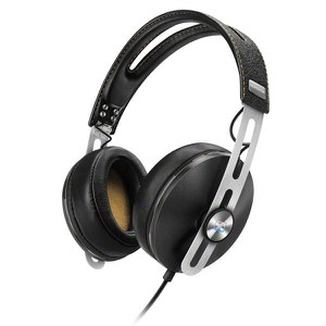 Sennheiser Momentum 2.0 Over-Ear Headphones Inc In-Line Remote & Mic - Black