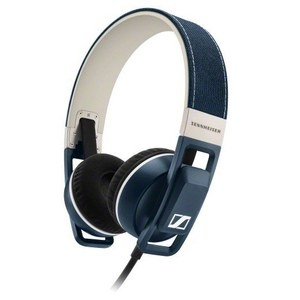Sennheiser Urbanite On Ear Headphones Inc In-Line Remote & Mic - Denim