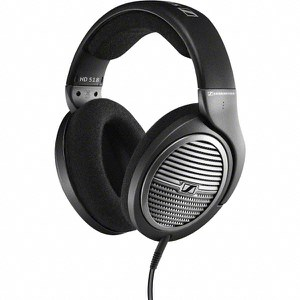 Sennheiser HD 518 Over Ear Headphones - Black