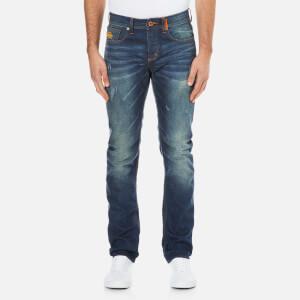 Superdry Men's Copperfill Loose Denim Jeans - Riveter Vintage