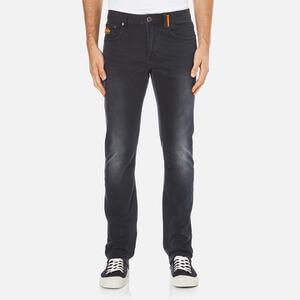 Superdry Men's Corporal Slim Denim Jeans - Dusted Black/Blue