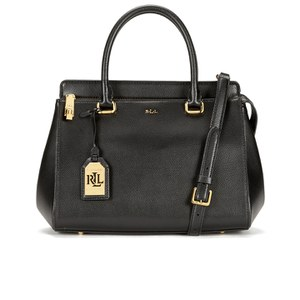 Lauren Ralph Lauren Women's Whitby Convertible Satchel - Black