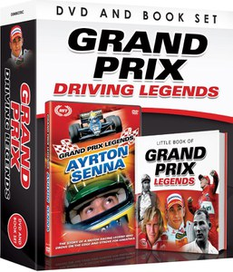 Grand Prix Driving Legends - Includes Book