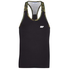 Myprotein Men's Camo Tank Top - Black Body