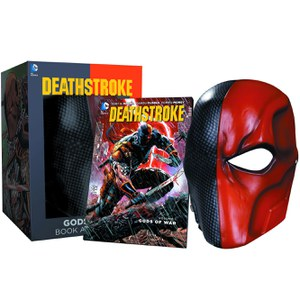 DC Collectibles DC Comics Deathstroke Mask and Book Set