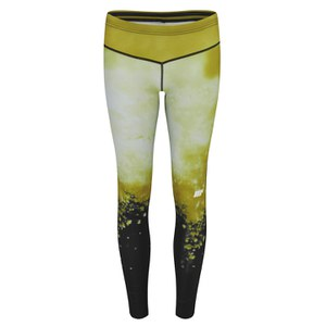 Legging Femme FT Athlétique, Jaune/Or