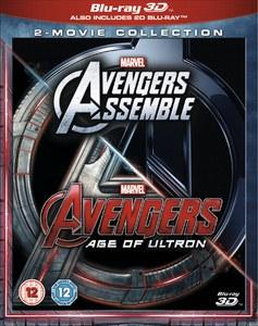Avengers Age Of Ultron / Avengers Assemble 3D Doublepack